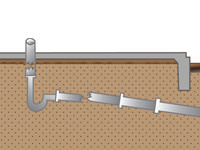how to build a shed foundation with deeper frost line